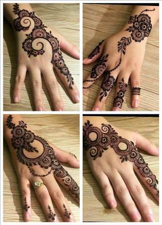 pakistani mehendi designs