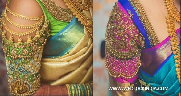 bridal blouse designs images