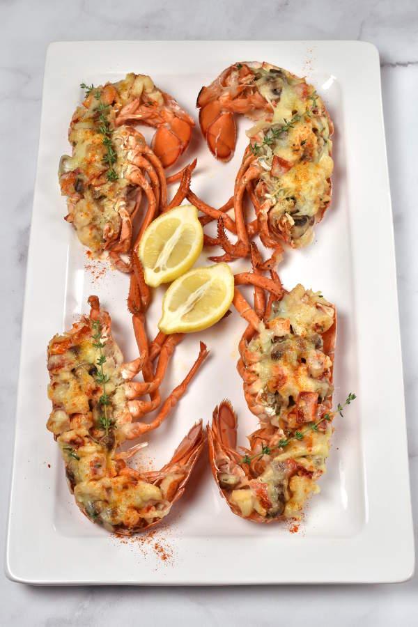 Lobster Thermidor   WednesdayNightCafe.com