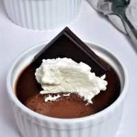 Dark Chocolate Pots de Crème