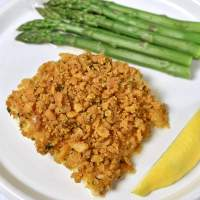 Boston Baked Cod with Ritz Cracker Crumbs