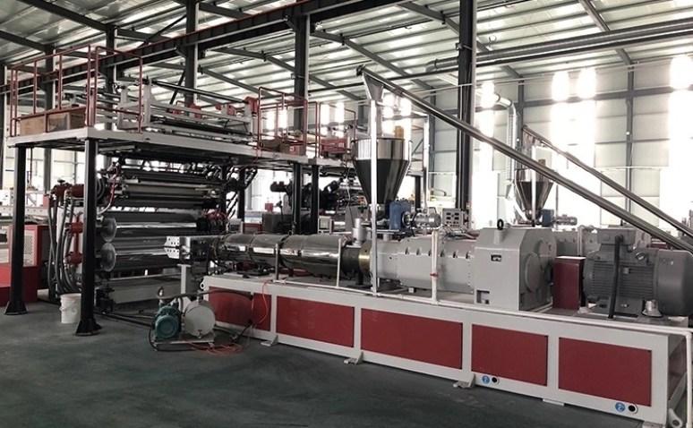 PVC SPC Flooring Extrusion Line 4