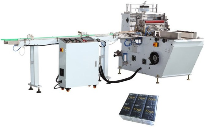 Pocket Facial Tissue Paper Folding and Packing Production Line 23