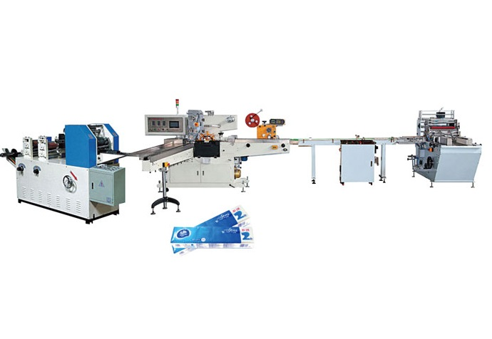 Pocket Facial Tissue Paper Folding and Packing Production Line