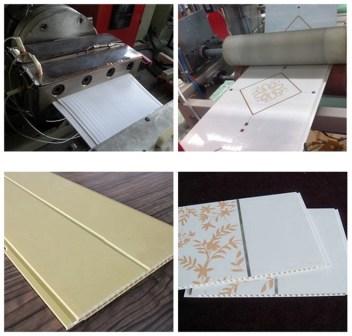 PVC Laminated Ceiling Panel Making Machine 39