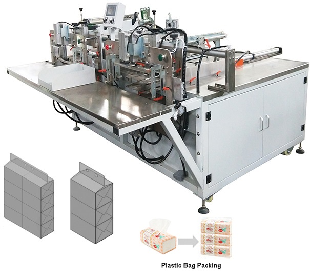 Fully Automatic Tissue Paper Folding and Packing Production Line 5