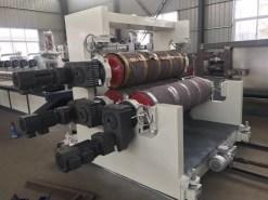 PVC Double Color Coil Floor Mat Production Line 11