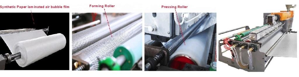 Multi-Layer Double Screw Air Bubble Film Wrap Sheet Making Machine 3