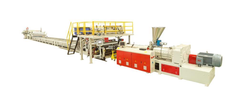 PVC SPC Flooring Extrusion Line