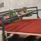 PVC Double Color Coil Floor Mat Production Line 8