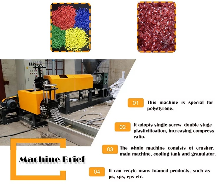 PS Foam Food Container Extrusion Line 5