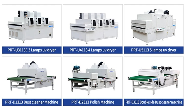 UV COATING PRODUCTION LINE FOR FURNITURE 31
