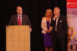 From L to R - Barry Sealey CBE, Belinda Roberts, founder of WeDO Scotland & Alan Steel of Alan Steel Asset Management