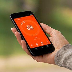 Nest smart phone app