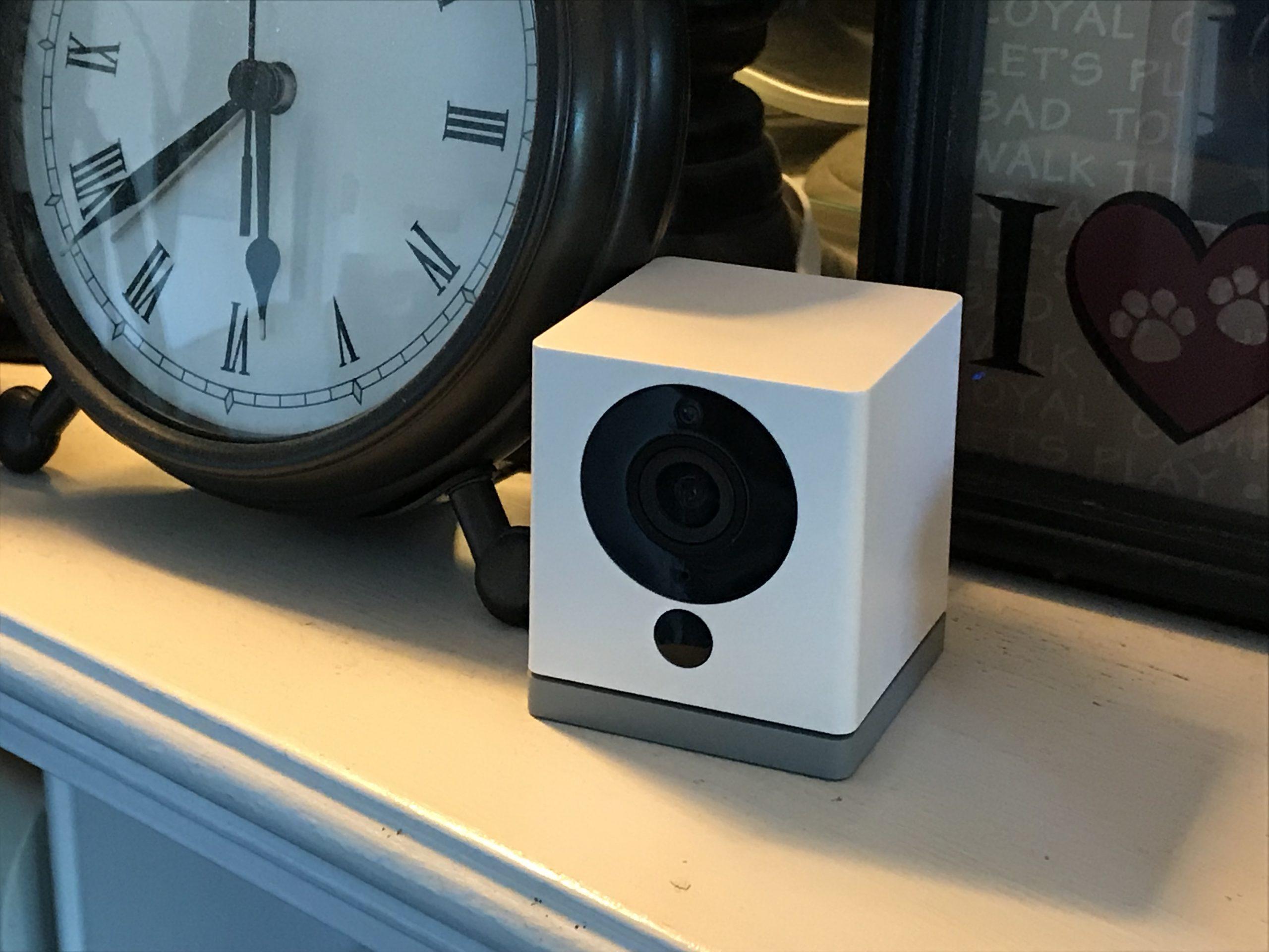 Wyze Fireplace Camera