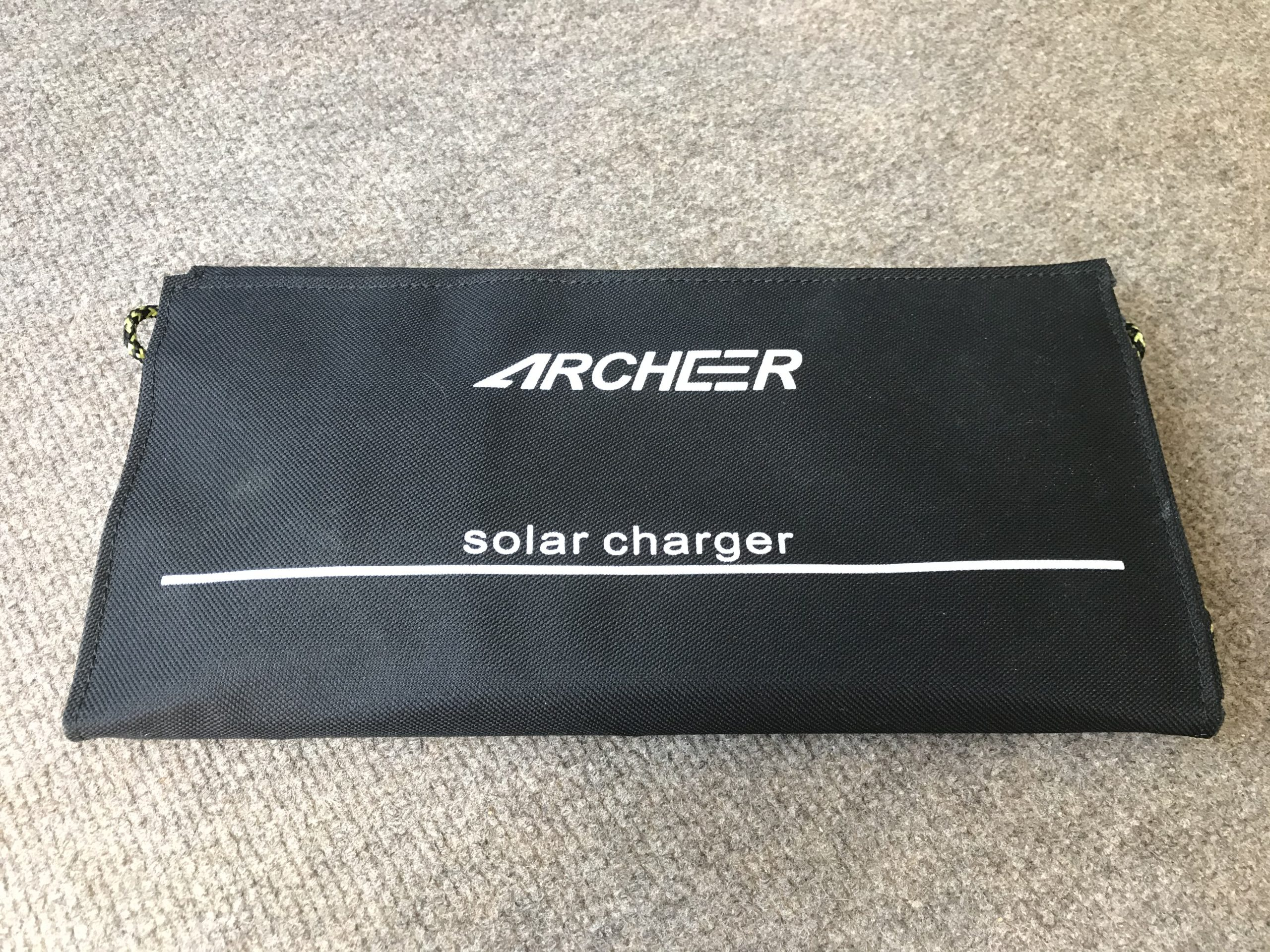 Portable Solar Charger Closed