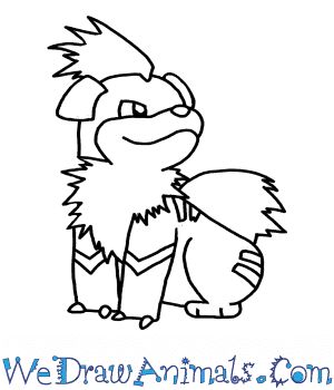 How to Draw Growlithe Pokemon