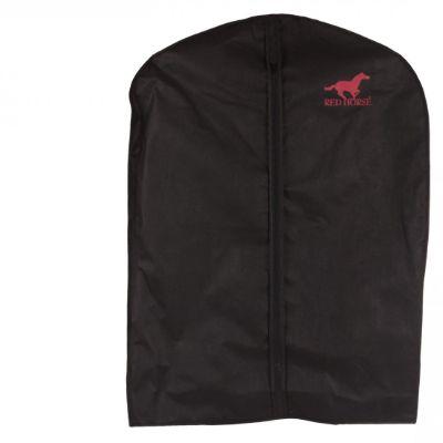 red horse kledingshoes voor rij of wedstrijdjas zwart