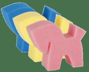 paardenspons flecki horse 3 kleuren