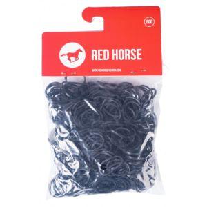 red horse paarden elastiekjes zwart 500 stuks