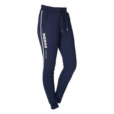 horka rijbroek jogger blauw