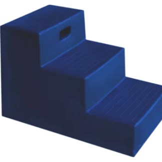 excellent opstaphulp 3 tredes blauw