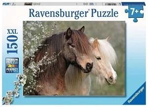 Ravensburger puzzel Mooie paarden 150 stukjes XXL