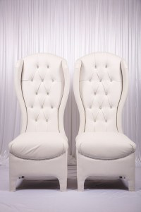 Princess Throne Chair Set for Bride & Groom - wedstyle ...