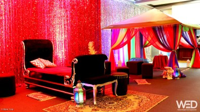 Arabian Night Decorations - Morley REC Centre - 06