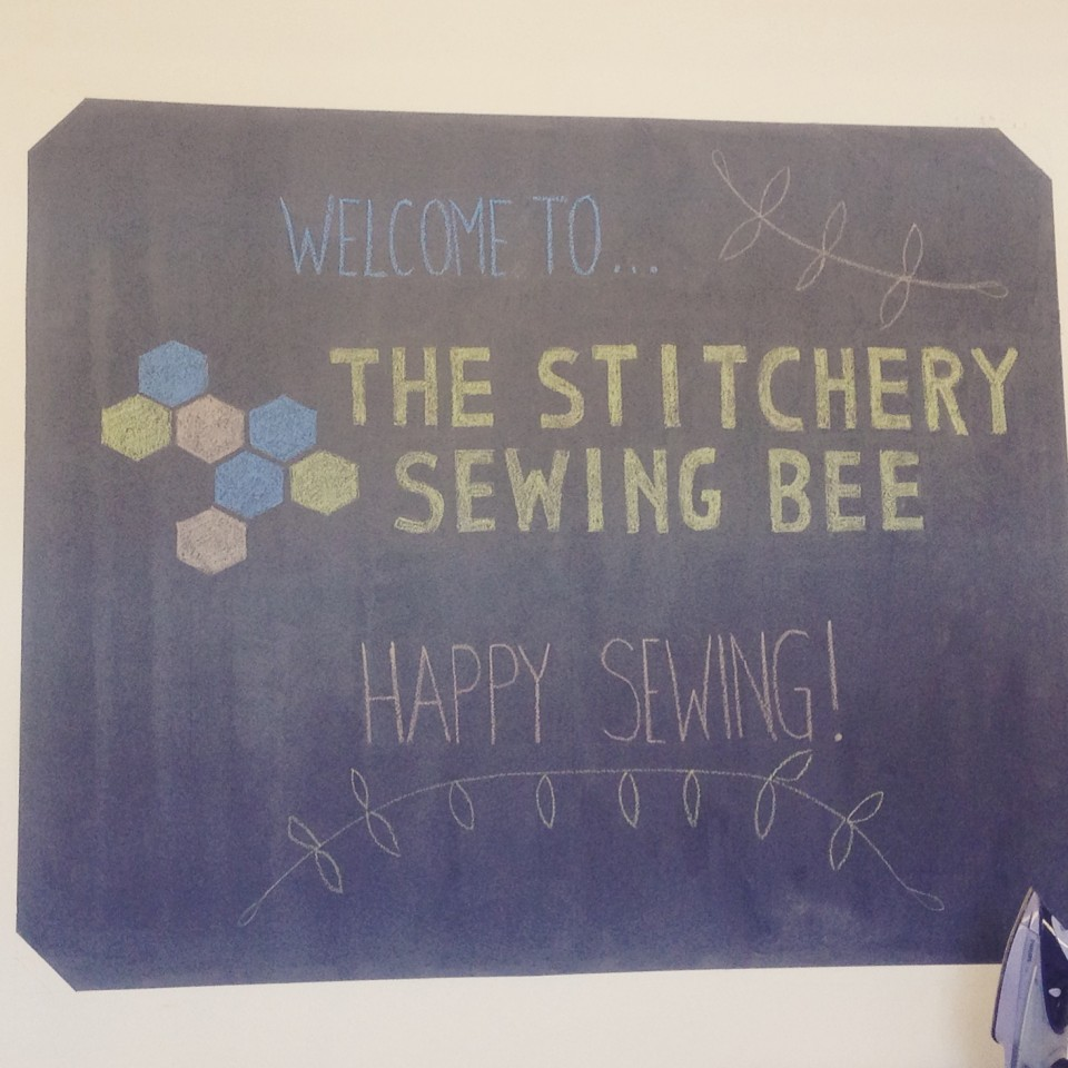 The Stitchery does a Sewing Bee.