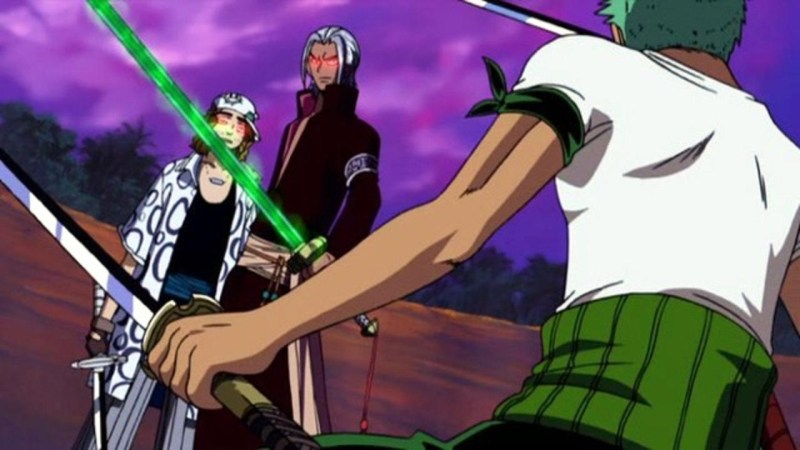One Piece Movie the cursed holy sword