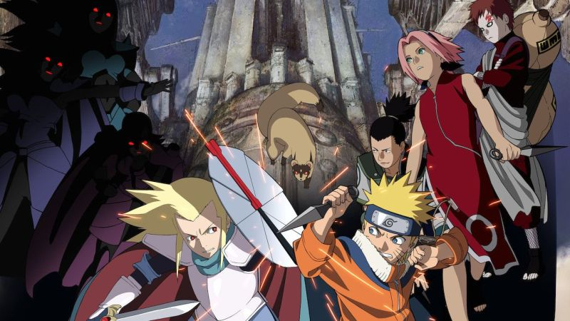 Naruto Movie 2 Legend of the Stone of Gelel