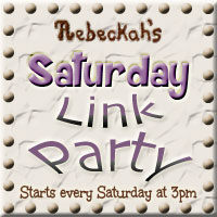 Rebeckah's Saturday Link Party