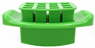 FunBites Green Squares Food Cutter