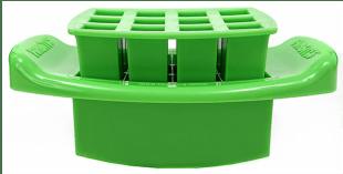 FunBites Green Squares Food Cutter