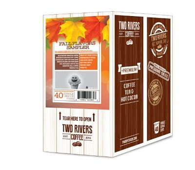 You'll Fall Over The New Fall Flavors in the Two Rivers LLC Coffee Fall Sampler Pack #Giveaway
