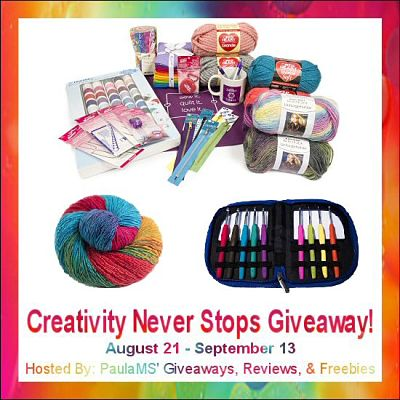 Enter by 9/13 to win 1 of 2 Great Prize Packages in the Creativity Never Stops #Giveaway