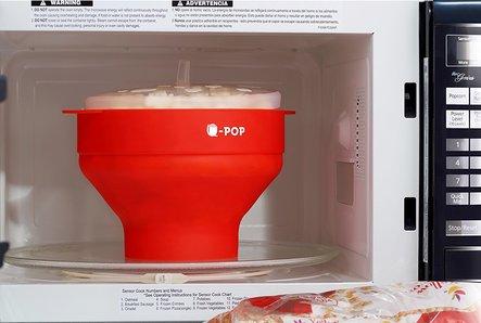U-POP Microwave Silicone Popcorn Popper