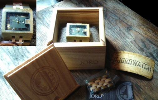 Jord Wood Watch makes a perfect gift. #jordwatch