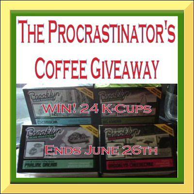 Procrastinator's Coffee Giveaway