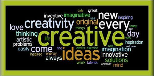 Creativity Never Stops Creative
