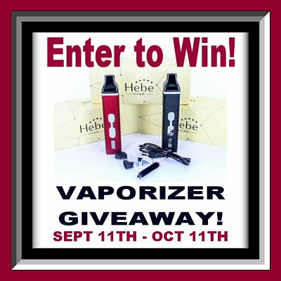 Would you like to win a Hebe Titan II #Vaporizer from NY Vape Shop? You can! Enter Today for your chance to win this great dry herb vaporizer.