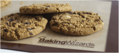 Feel safe using these FDA & LFGB approved professional grade silicone baking mats from Baking Wizards