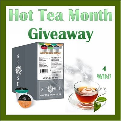 ☕ 4 will #WIN a #DashofStash when this Hot Tea Month #Giveaway ends 1/31 □ Join Me & Enter Too! ~ A Wandering Vine