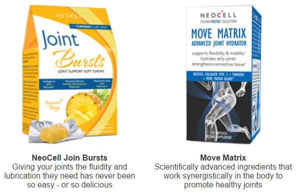 Get Your Joints Moving With Neocell's Collagen Products
