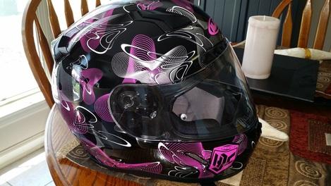 New Helmet!