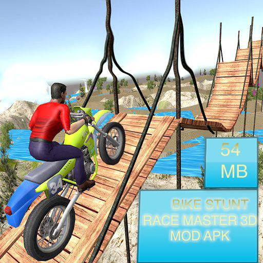 Bike Stunt Race Master 3D Mod Apk 2020