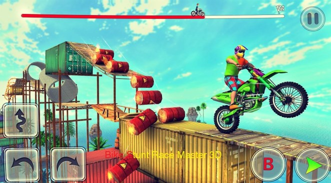 Bike Stunt Race Master 3D