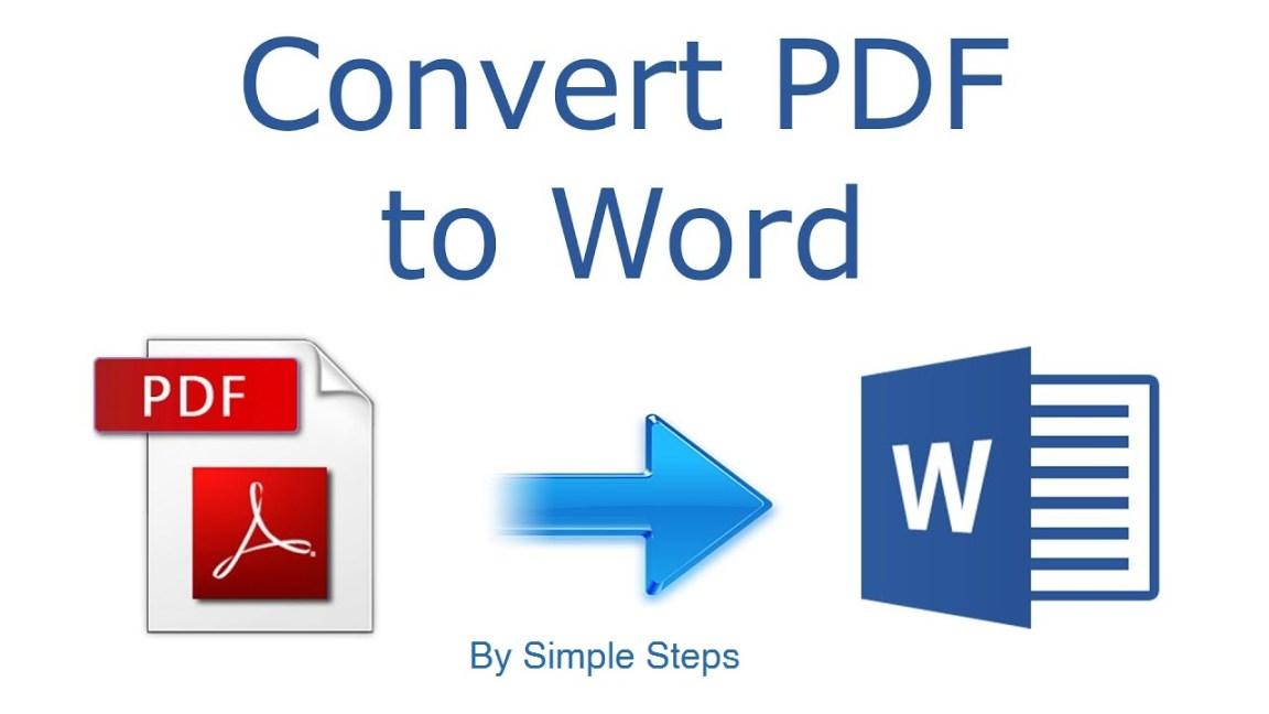 Convert pdf-to-word