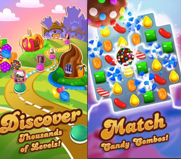 screen shot of Candy crush saga mod apk